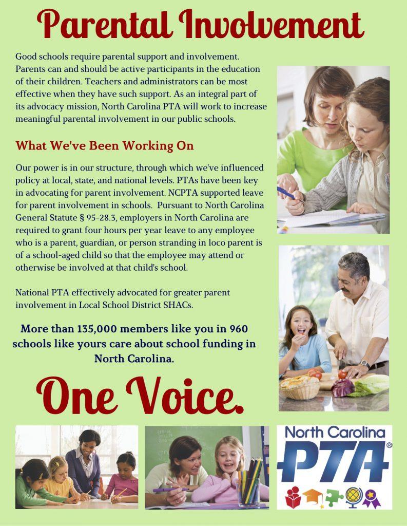 one-voice-parental-involvement