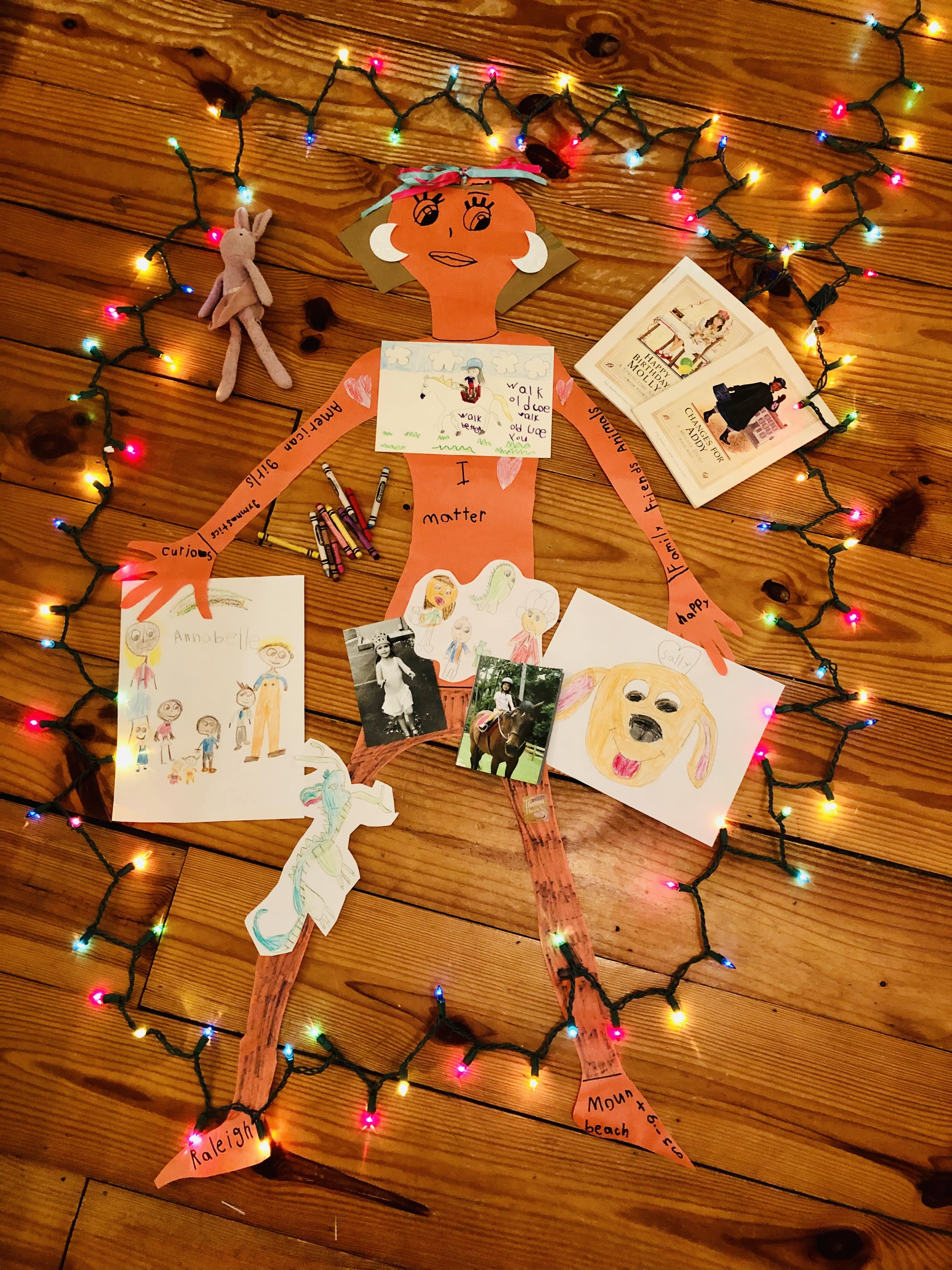 """Photography – 1st PlacePrimaryAnnabelle PateDouglas Creative Arts-Sci. Magnet School, Raleigh""""I Matter because I'm me!"""""""